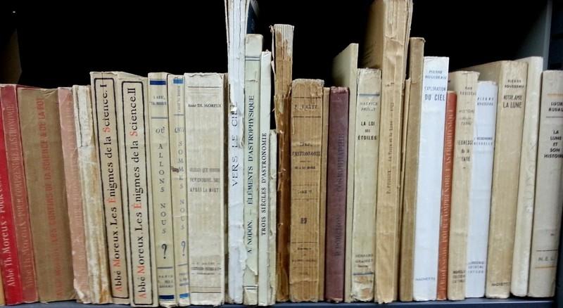 Bibliothèque de l'abbé Levert, conservée à la médiathèque de Coutances