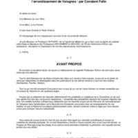 Considérations sur l'amélioration de la race bovine normande, dans l'arrondissement de Valognes / Constant Fafin
