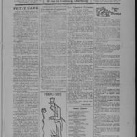 Le Coup de canon, numéro du 01 août 1918