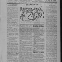 Le Coup de canon, numéro du 01 mai 1918