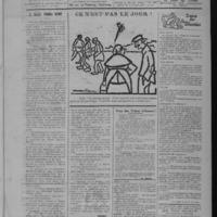 Le Coup de canon, numéro du 01 juin 1918